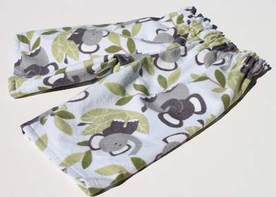 Elephant Infant Gift Set pants via lilblueboo.com