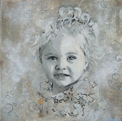 Summer Special on Custom Painted Portraits via lilblueboo.com