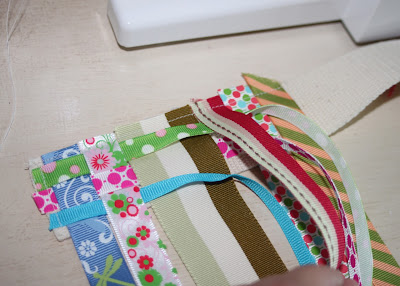 Scrap Ribbon Belt (A Tutorial) step 5 via lilblueboo.com