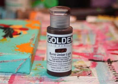 How to make a distressed folk art-style painting. DIY tutorial step 9 via lilblueboo.com