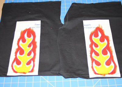Flaming Pants tutorial step 8 via lilblueboo.com