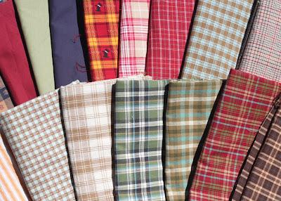Fabric shopping today via lilblueboo.com