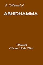 MANUAL OF ABHIDHAMMA