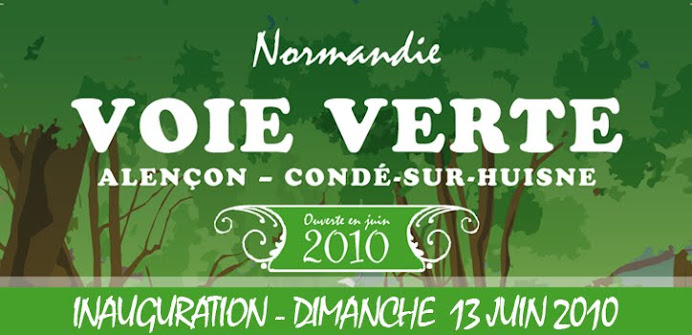 La Voie Verte de l&#39;Orne en Normandie