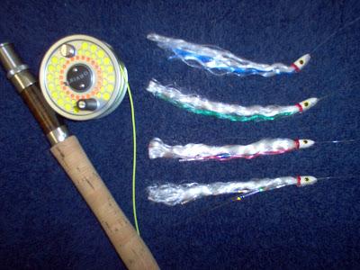 Lake lanier gar fishing rainbow fly rod lure for Gar fishing lures