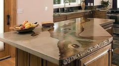 Click to view more Imported Marble and Faux Paint countertop finishes.