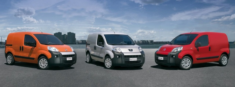 their jointly developed large vans (Fiat Ducato, Citroën Jumper/ Relay,