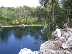 Cenote in Xel Ha Ruins