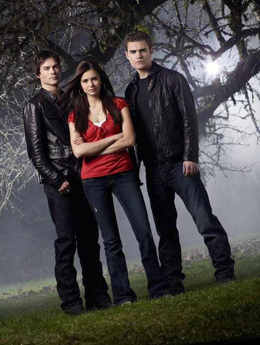 vampire diaries cast pics. yes, I love this show!