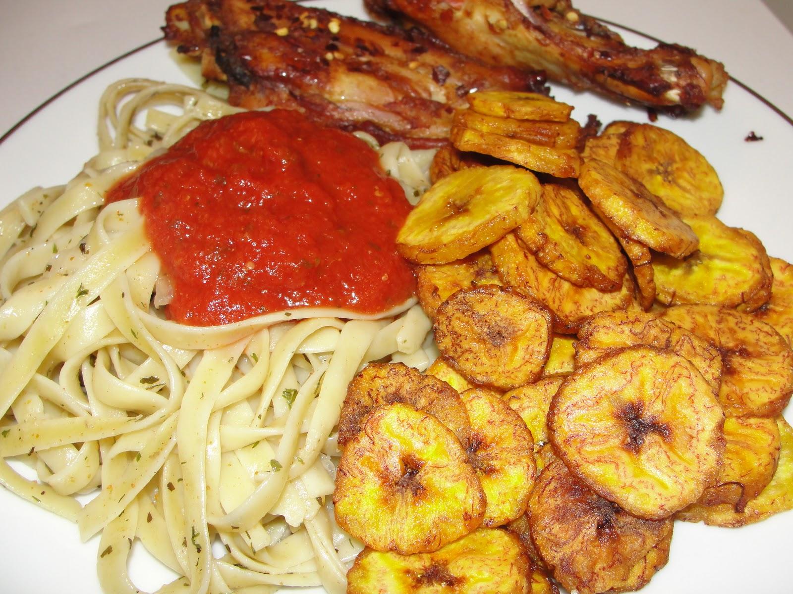Modern african cuisine fettucini 9ja style for African cuisine history
