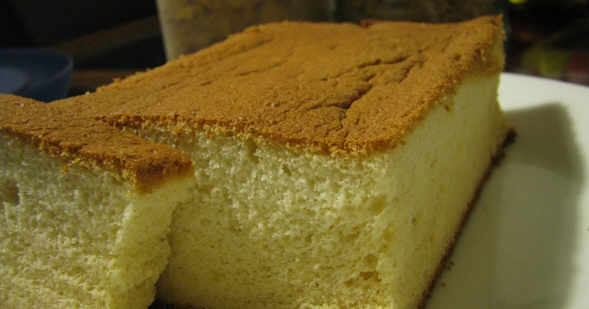 Honey Sponge Cake No Sugar
