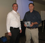 Jon Aschenbach and Joe Sass with ProFlex 500 GPS