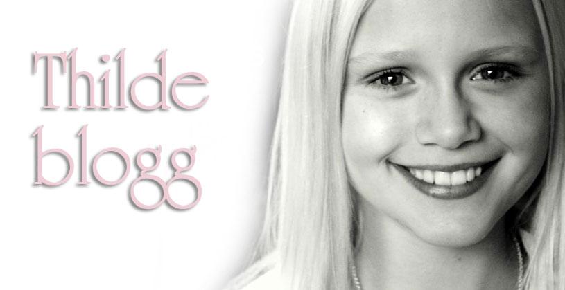 Thilde blogg