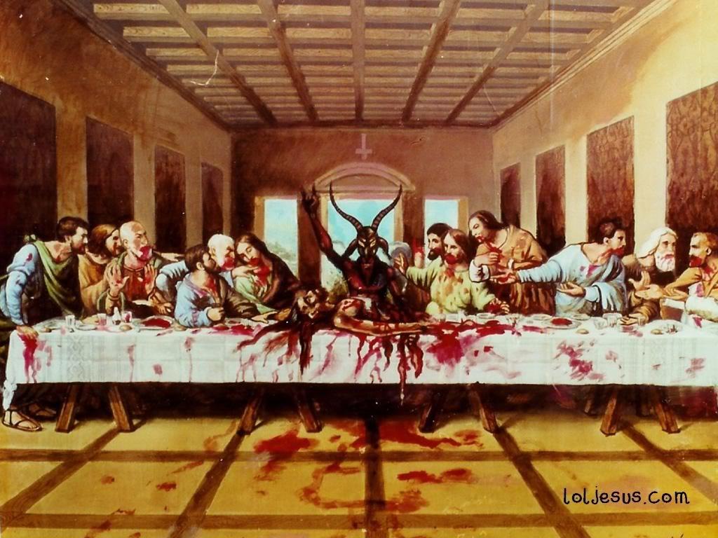 Ritual ini mereka lakukan dengan meminum darah bayi serta memakan