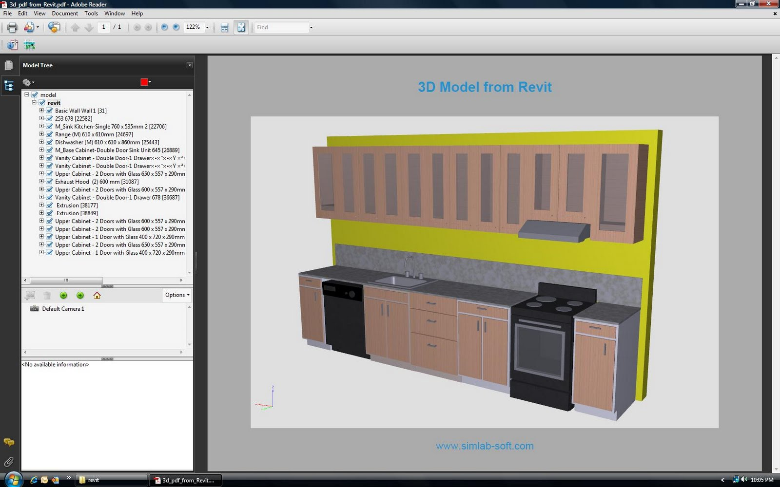 bluebeam 3d pdf from revit