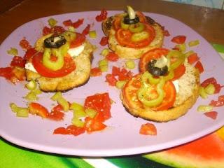 """Articole culinare : Bruschette """"La Minuto"""""""
