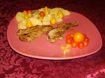 Articole culinare : File de Porc cu Ananas