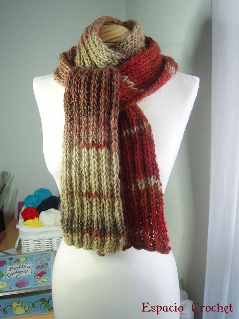 Maratón de bufandas II parte / knitted scarves