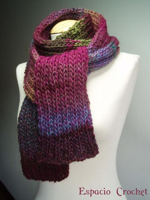 Maratón de bufandas / knitted scarves