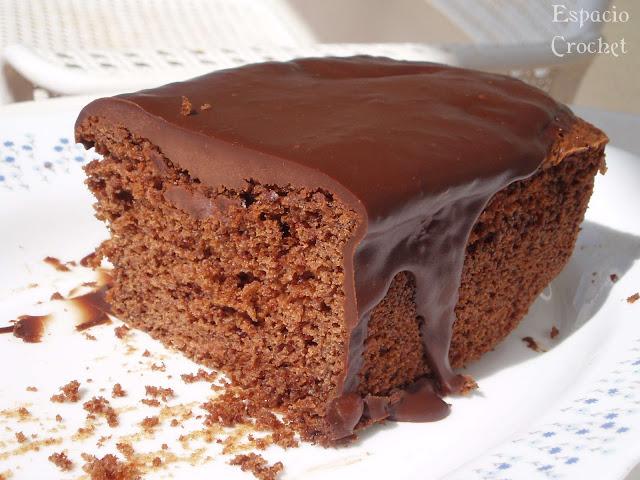 Bizcocho de chocolate (receta)  y ¡noticia!