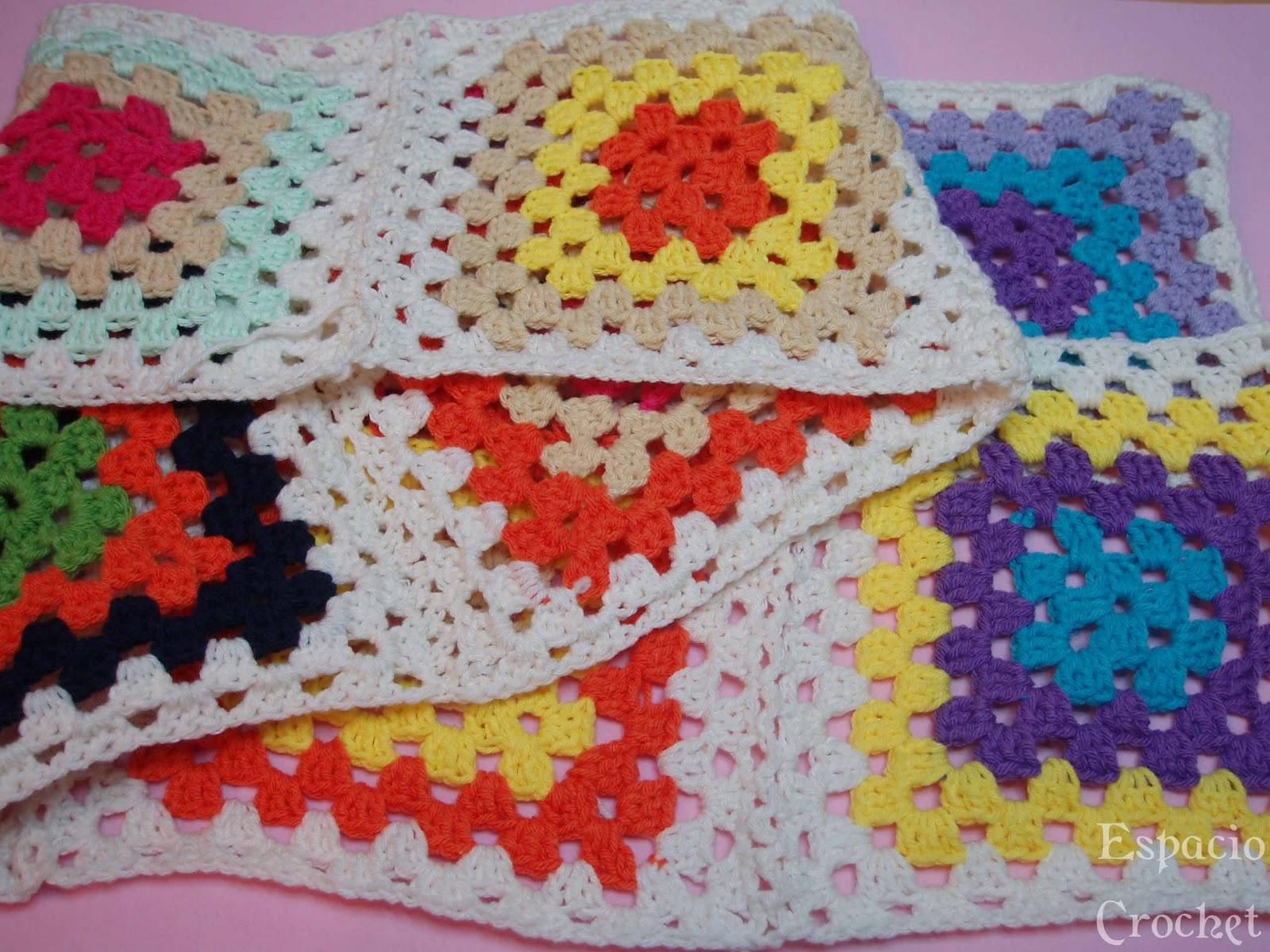 Cuadros De Crochet   Crochet Squares
