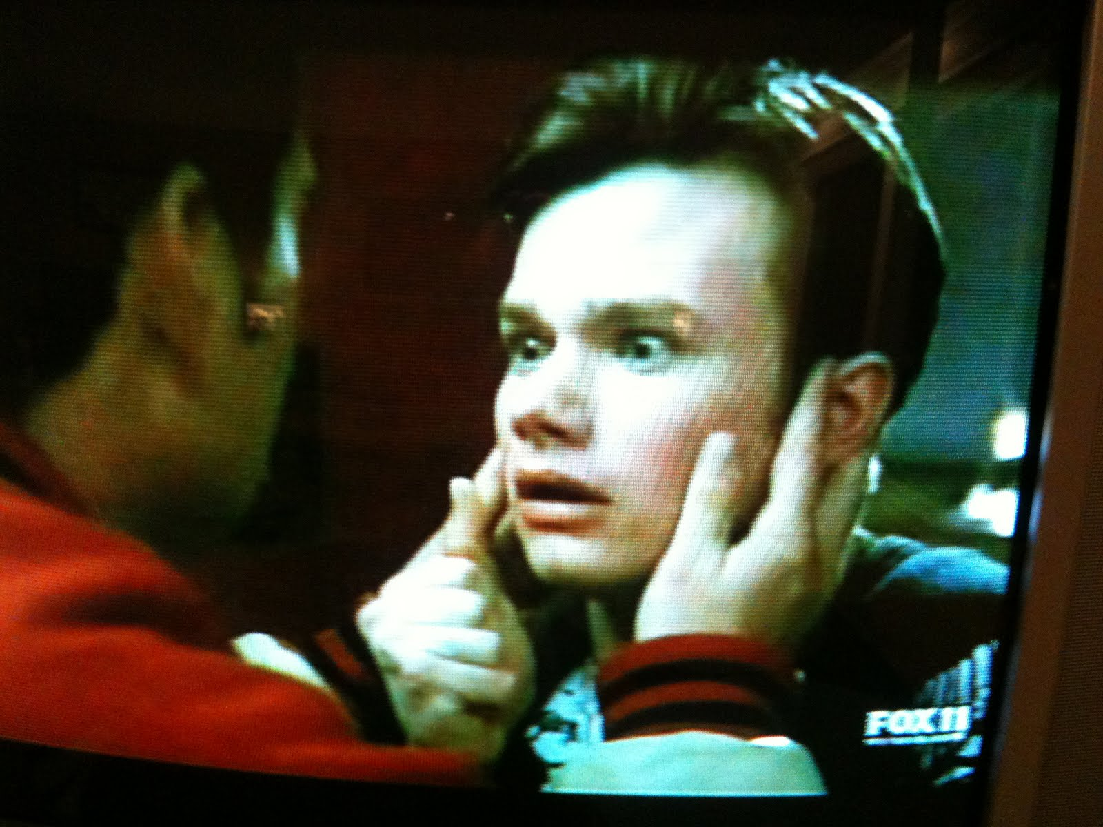 The Gay Kiss. Kurt's reaction ...basically revealing that the source of this ...