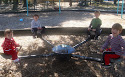 My babies on the seesaw