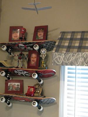 Kristie chamlee boy 39 s skateboard room design for Boys skateboard bedroom ideas