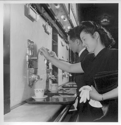 The coffee at the Horn & Hardart Automat was dispensed from a dolphin ...