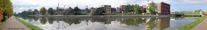 Panoramic View of the Erie Canal