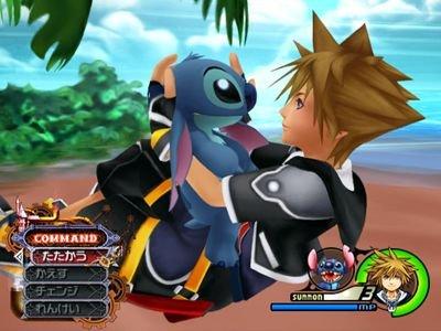 Kingdom Hearts 2 Summon-screen