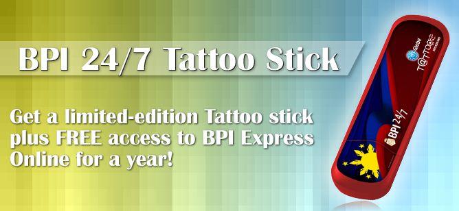BPI 24/7 Tattoo Stick