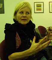 Cornelia Schleime; photo by Val Phoenix