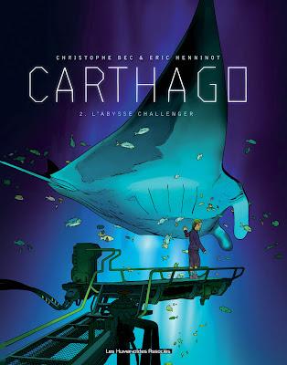 Carthago Vol. 2, El Abismo de Challenger,Cristophe Bec, Milan Jovanovic,Norma Editorial  tienda de comics en México distrito federal, venta de comics en México df