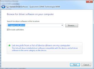 qualcomm msm device driver windows 7
