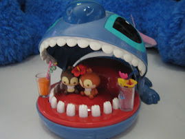 stitch crocodile theme cafe..