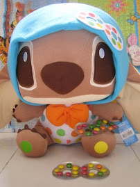 traditional chocolate inspired Stitch!!! went to many places to look for the chocolate!! HOHOHO