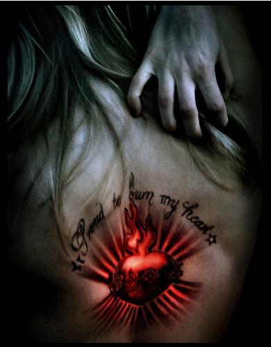 Tattoos Spotlight Star Heart Tattoos