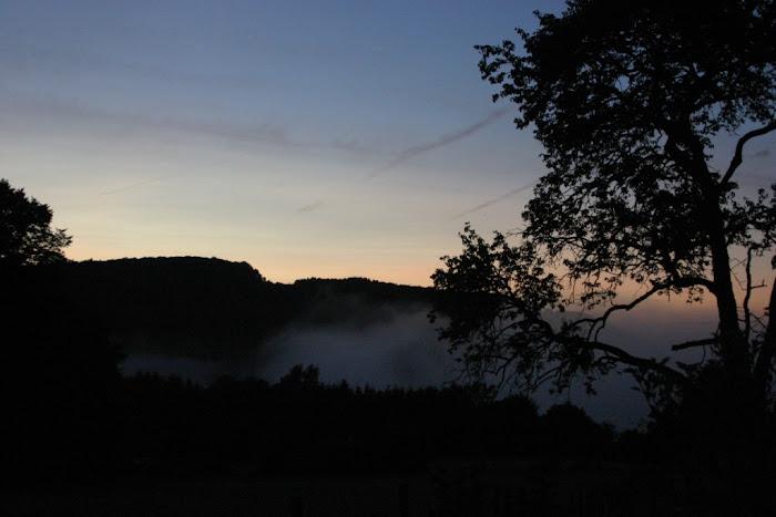 Crépuscule en Ardenne