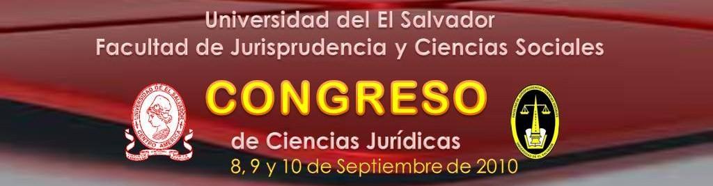 Congreso de Ciencias Jurídicas 2010