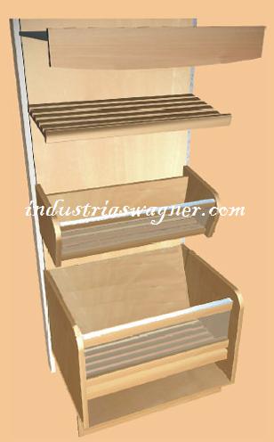 Industrias wagner muebles para el comercio for Muebles para comercio