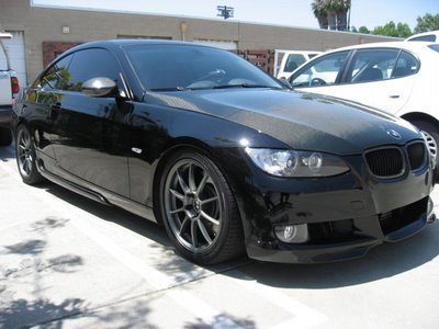Labels: bmw 335i coupe carbon fiber mod