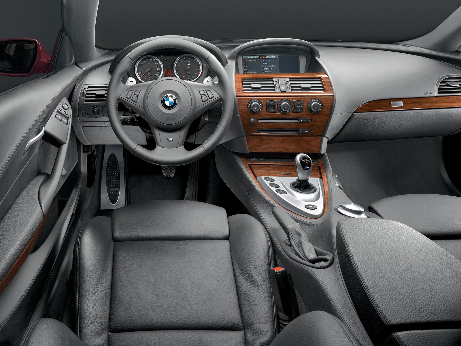 BMW M6 interiors