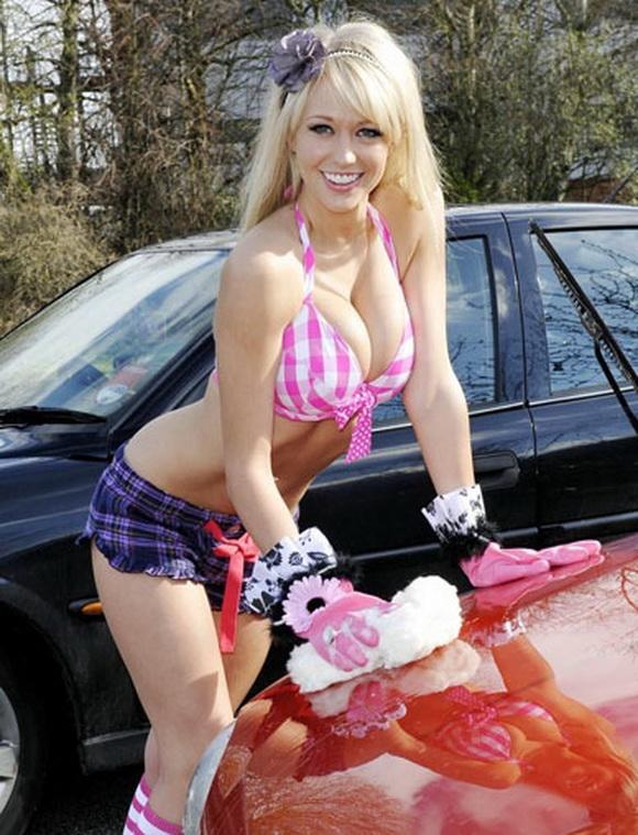 Sexy Car Wash New Sport Car