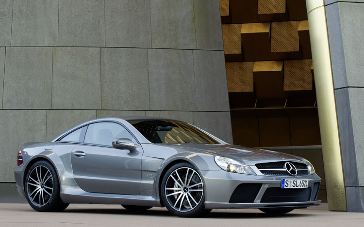 mercedes sl65 black series.