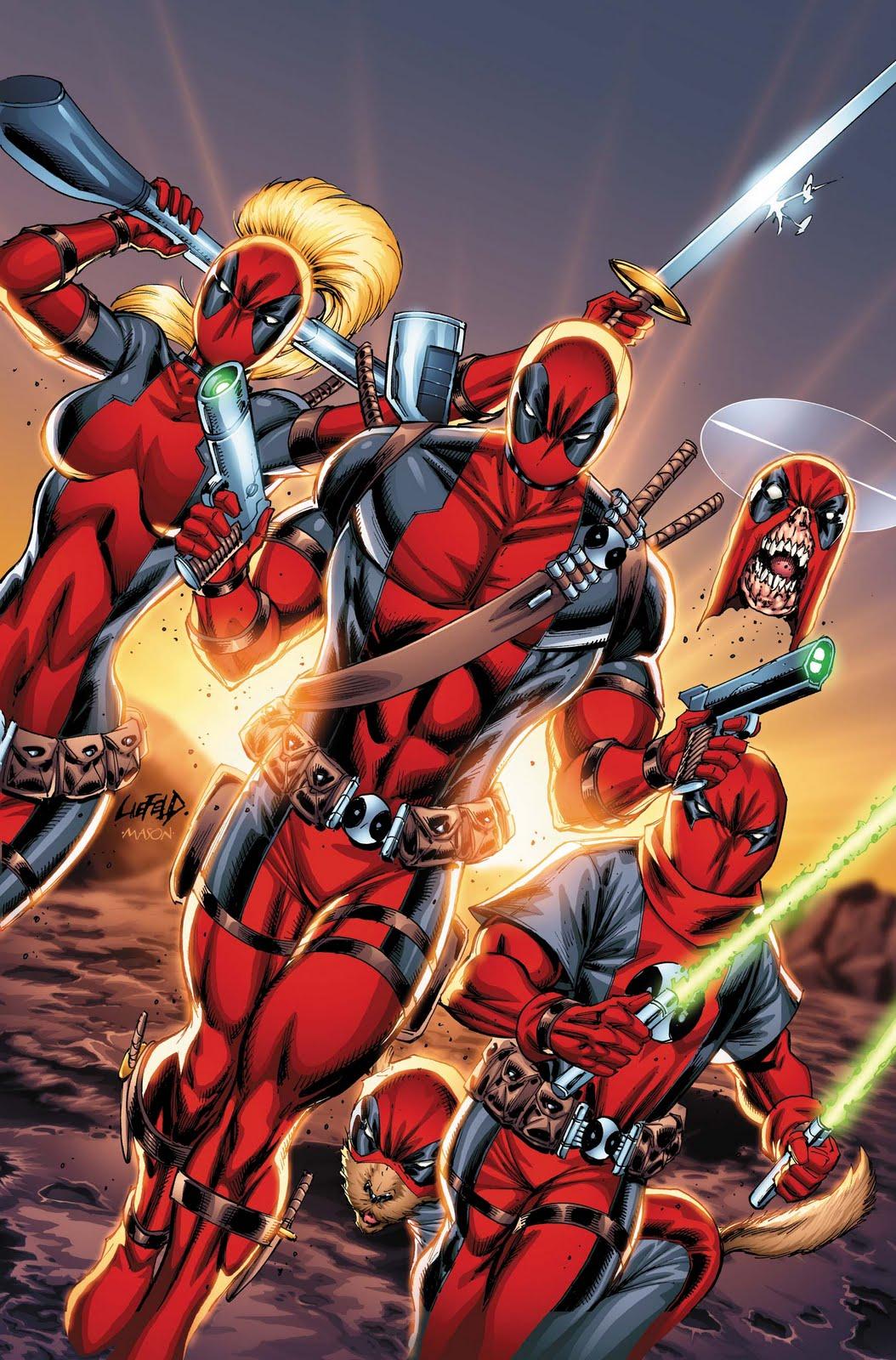 March 2011 deadpool comics deadpool bugle for Headpool