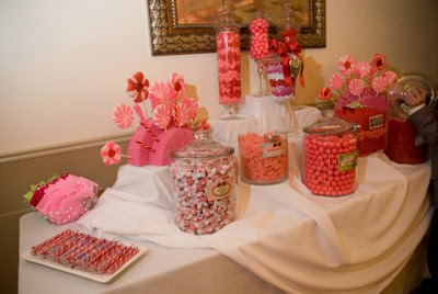 The canterbury place candy bar tips for Candy bar for weddings receptions