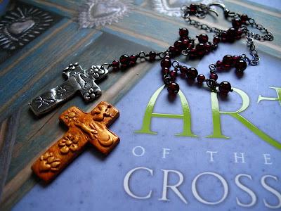 milagro cross pendant bunny silver jewelry