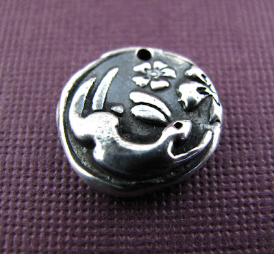 silver rabbit moon charm hint jewelry