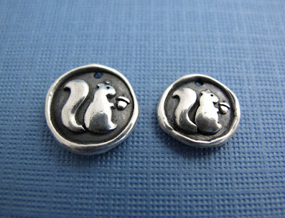 silver squirrel charms hint jewelry